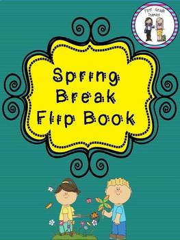 Spring Break Flip Book