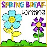 Spring Break Flower Writing