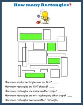 Spring Break Geometry Puzzles