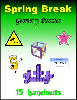 Spring Break Geometry Puzzles