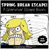 Spring Break Grammar Escape Room - Distance Learning