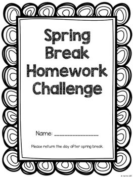 Spring Break Homework Challenge - K