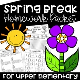 Spring Break Homework Packet - Print & Go