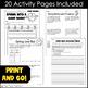 Spring Break Homework Packet - Print & Go