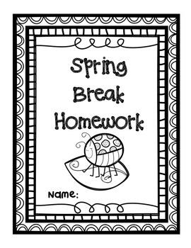 Spring Break Homework Review Packet