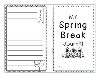 Spring Break Journal