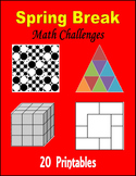 Spring Break Math Challenges