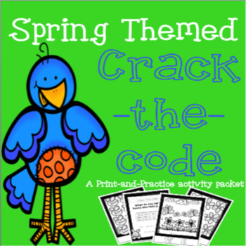 Spring Themed Math & Literacy Packet - Print & Practice