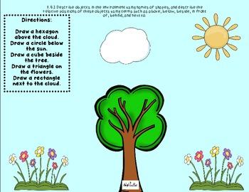 Spring Break Math Practice Packet {Common Core Aligned}