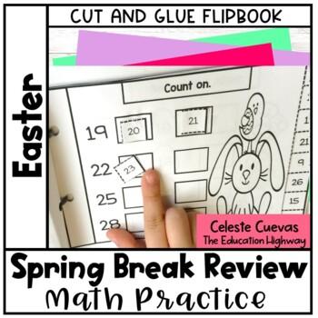 Spring Break Math Review Booklet