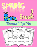 Spring Break Mini Pack of Fun Activities