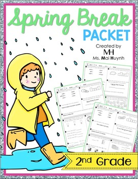Spring Break Packet - 2nd Grade