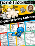 Spring Break Packet Kindergarten | Kindergarten | Distance