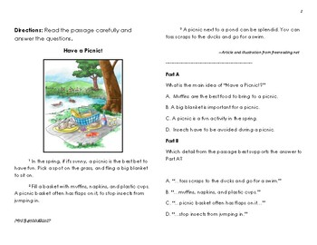 Spring Break Packet-PARCC Practice