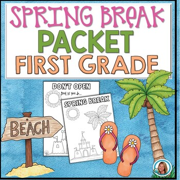 Spring Break Packet for First Grade | HOME LEARNING