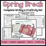 Spring Break Writing and Craftivity Set - Persuasive Writing