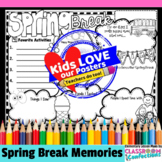 Spring Break: Writing: Activity Poster