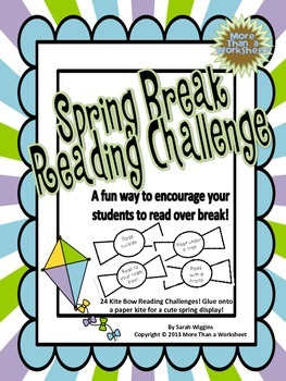 Spring Break Reading Challenge (Single Classroom Use)