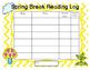 Spring Break Reading Challenge
