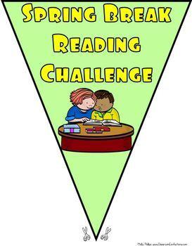 Spring Break Reading Challenge Banner