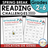Spring Break Bingo Reading and Genre Challenges {FREEBIE}