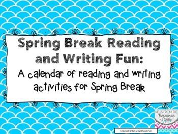 Spring Break Reading Fun!