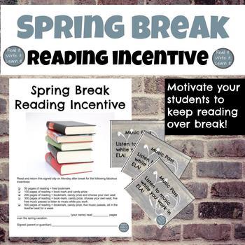 Spring Break Reading Incentive