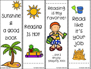 Spring Break Reading {bookmarks & reading logs}