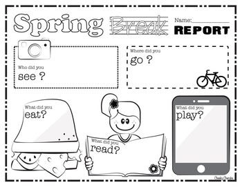 Spring Break Report Poster