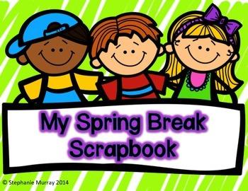 Spring Break Scrapbook