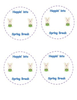 Spring Break Student Gift