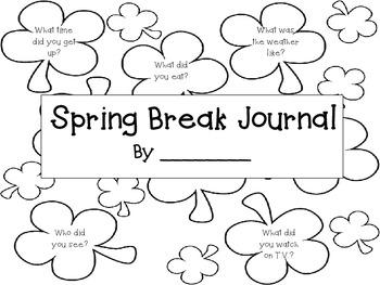 Spring Break Take Home Packet