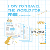 SPRING BREAK , Travel for FREE Guide