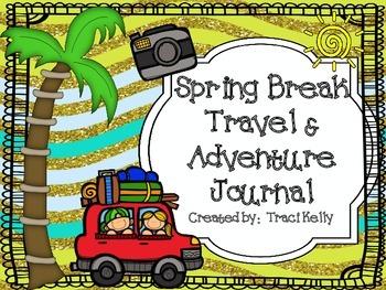 Spring Break Travel and Adventure Journal