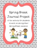 Spring Break Vacation Journal Activity