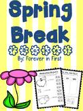 Spring Break Homework packet