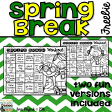 Spring Break Workout: Encouraging Physical Activity over Spring Break