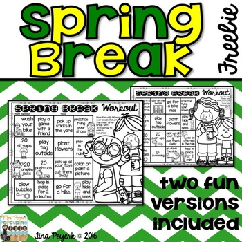 Spring Break Workout: Encouraging Physical Activity over S