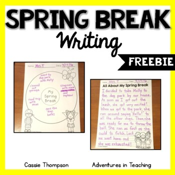 Spring Break Writing- FREEBIE