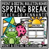 Spring Break Writing Prompts 3rd Grade, 4th Grade Spring Break Writing Activity