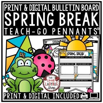 Spring Break Writing Prompts - 2nd Grade, 3rd Grade, 4th Grade