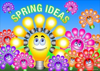 Spring Bright Ideas Poster