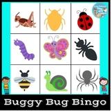 Spring Buggy Bug Bingo