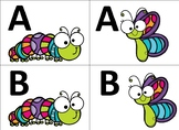 Spring Bugs Capital Letter Match