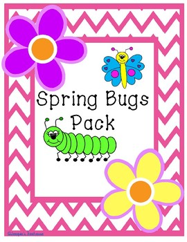 Spring Bugs Clipart Pack