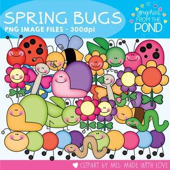 spring bugs clipart for teaching and teachers by graphics from rh teacherspayteachers com bugs clipart free bugs clipart cute