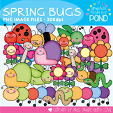 Spring  Bugs - Clipart for Teaching and Teachers!