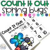 Spring Bugs Count It Out Adapted Book
