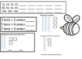 Spring Bugs First Grade Math Review