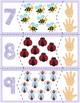 "Spring Bugs Quantity Puzzles #1-10 | ""Show me fingers"" Version"